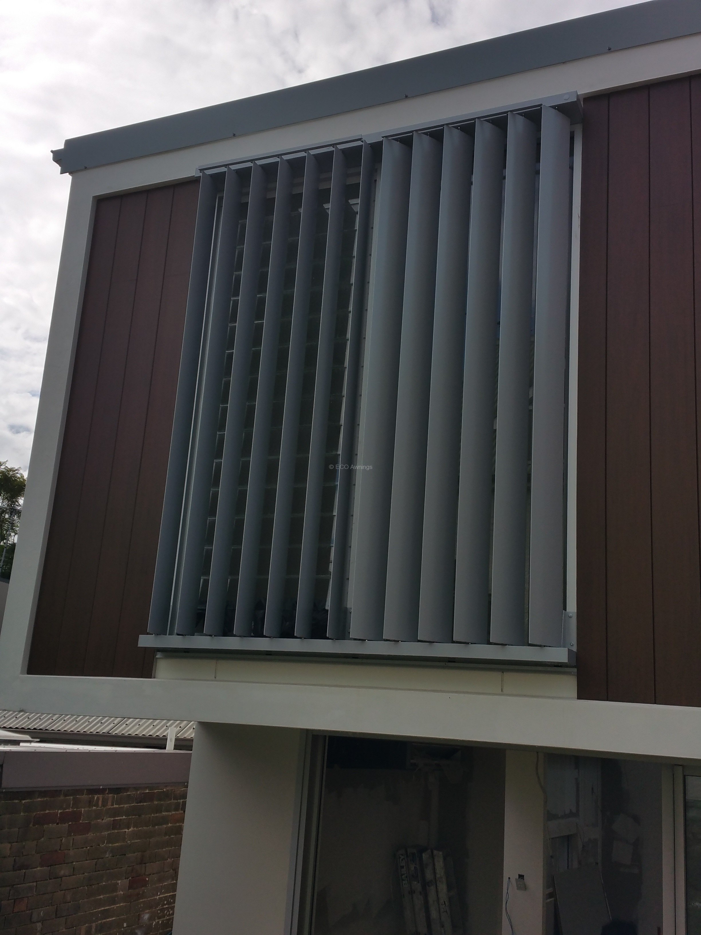 160mm Adjustable Privacy Screen Louver