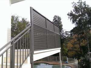 side privacy screen