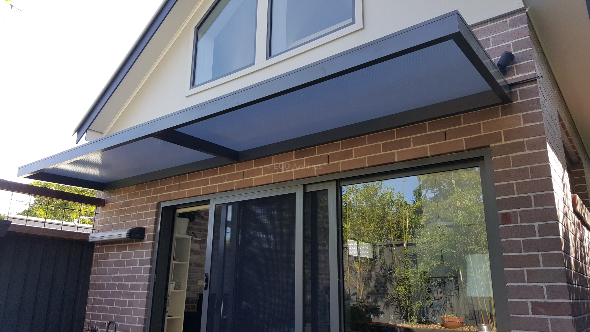 Slimline Awnings Over Sliding Door Eco Awnings