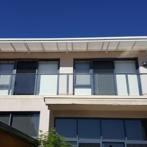 Polycarb Canter lever awning