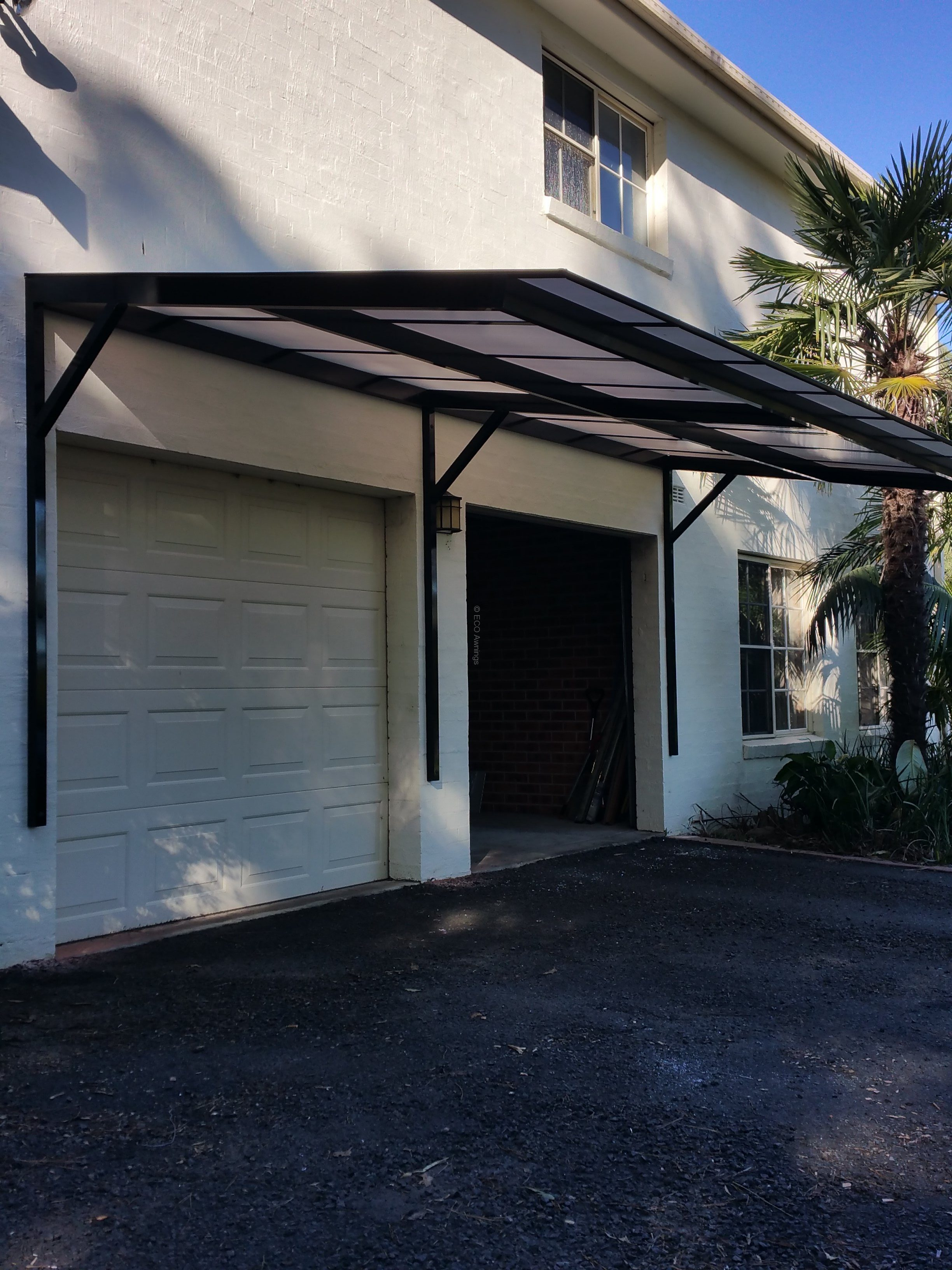 Get a quote for a Cantilever Polycarb Awnings | Eco Awnings