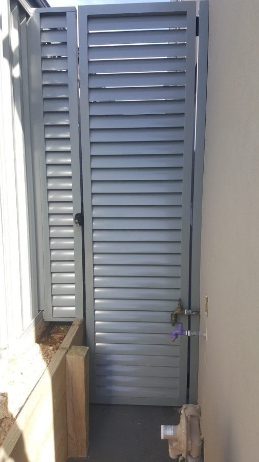 Louver Gates with 85mm Blades