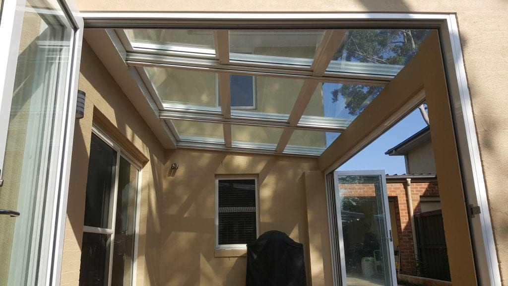 Clear Patio Roof