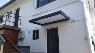 window door awning