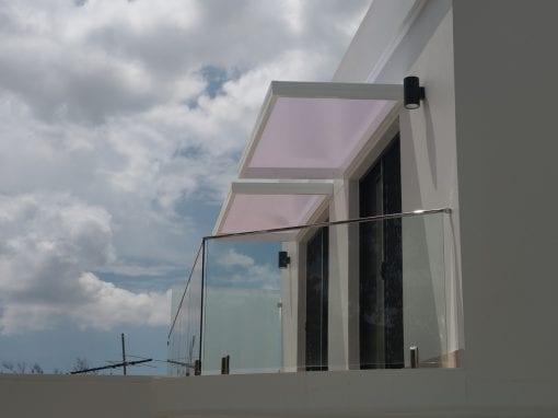 Slimline awnings