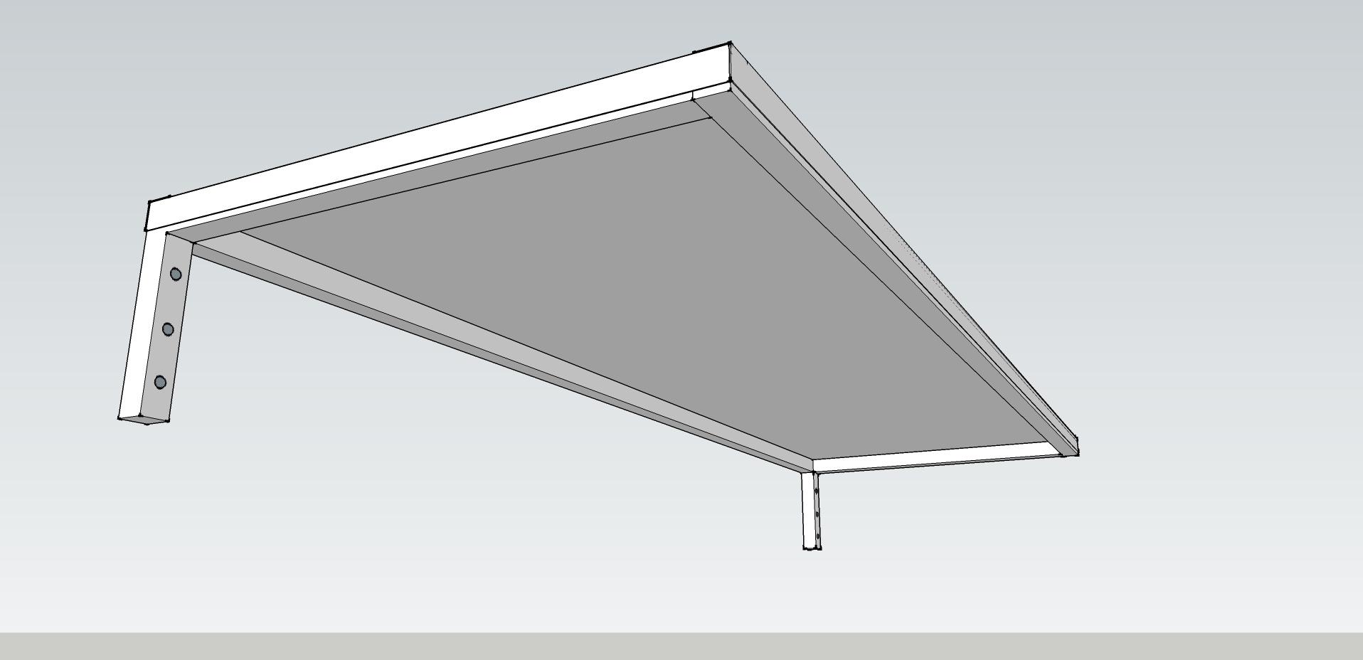Slimline 50 Canter lever under side 2